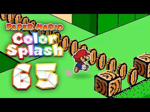 Paper Mario: Color Splash - Episode 65 - Green Energy Plant