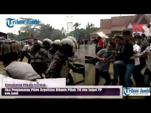 Kerusuhan Massa Terjadi Usai Deklarasi Pilkada Damai