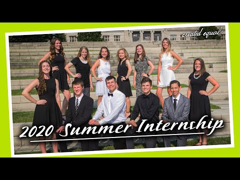 Looking Back on the 2020 Summer Internship!