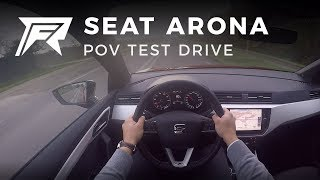 2017 Seat Arona 1.0 TSI 115HP - POV Test Drive (no talking, pure driving)