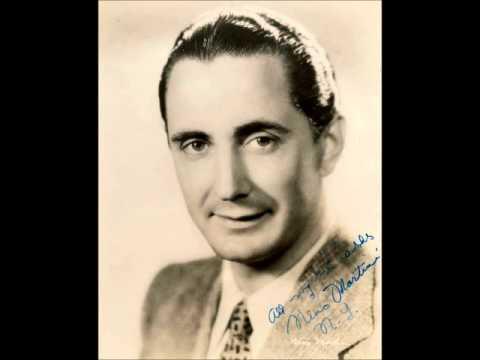 "Nino Martini (1902-1976), tenor unpublished 78 rpm ""Credeasi, misera"" with the high F, 1933."