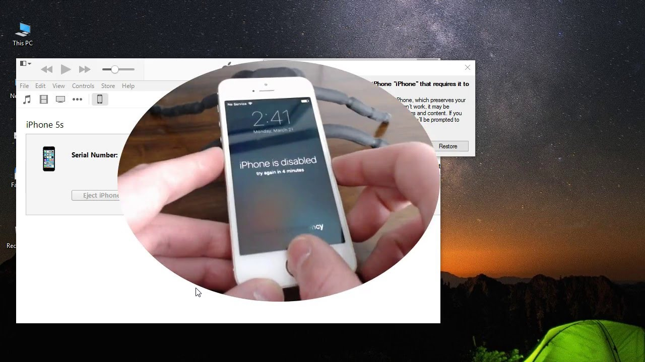 How To Reset iPhone 28s To Original Factory Settings - YouTube