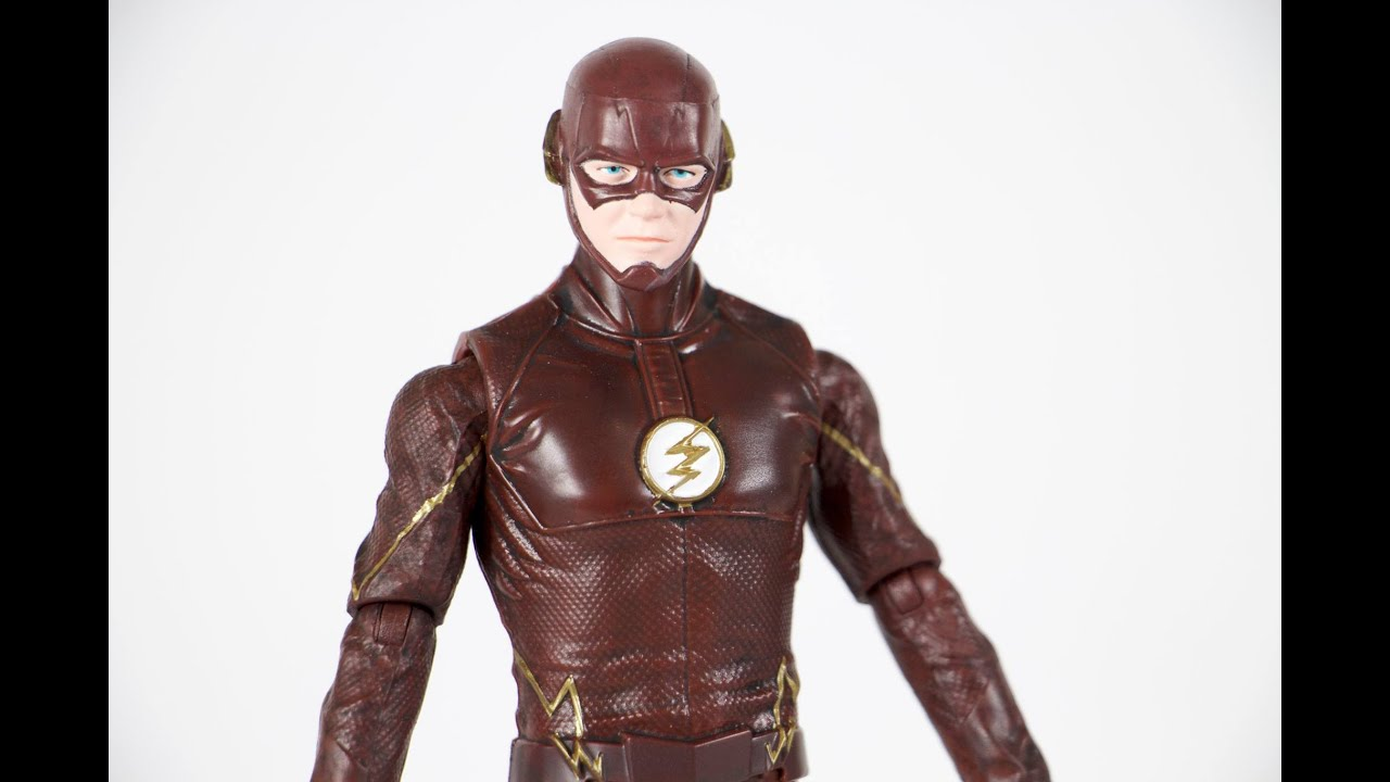 Flash TV Show Flash DC Multiverse 6 Inch Figure Justice Buster Series