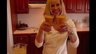 Betty's Mango Peach Smoothie With Milk & Protein Powder