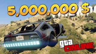 GTA ONLINE - ОБЗОР ЛЕТАЮЩЕЙ ТАЧКИ ЗА 5,000,000$!!!! #344