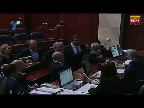 Инцидент во Собранието меѓу Талат Џафери и Никола Груевски
