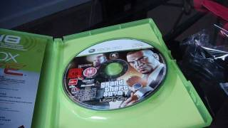 GTAIV Episodes From Liberty City - Unboxing