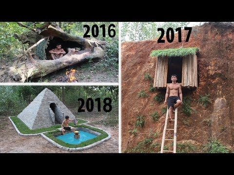 Unbelievable! Evolution of Primitive Technology For 3 year 2016-2017-2018