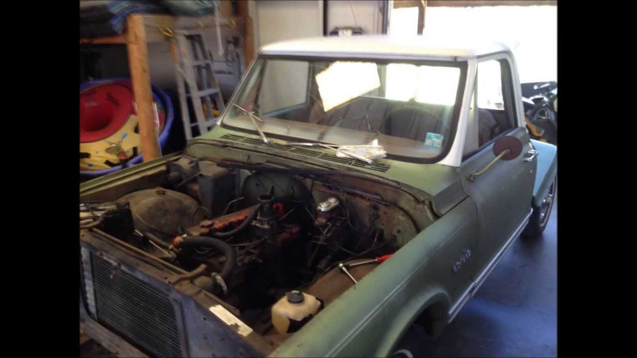 Truck chevy c10 project trucks : 1969 Chevy C10 Project - YouTube