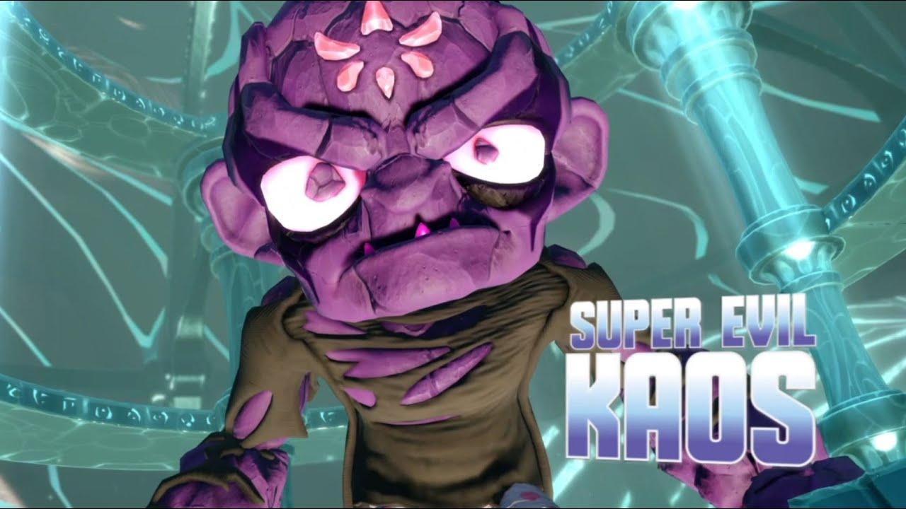 Skylanders Swap Force Final Boss Battle Super Evil Kaos
