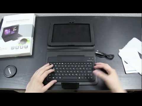 I Got A Bluetooth Keyboard For The Samsung Galaxy Tab 10.1!
