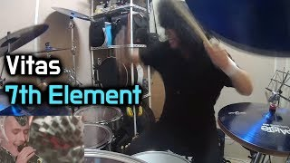 Vitas - 7th Element - Drum Cover (By Boogie Drum)