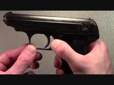 JP Sauer and Sohn 38H shooting and review:  WWII pistol