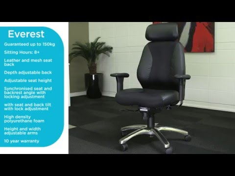 Buro Everest - Demo of Features from Hurdleys Office Furniture, Auckland.