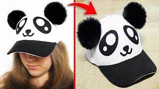 🐼 DIY: Kawaii Panda Cap 🐼