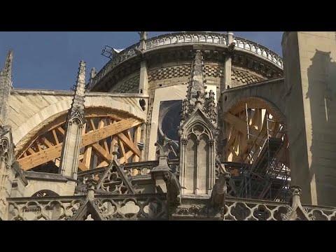 La canicule menace Notre Dame de Paris