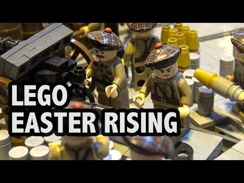 Massive LEGO Easter Rising Battle 1916 Ireland