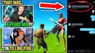 Tfue's girlfriend EXPOSED my private messages to her from 4 YEARS AGO... (she confronted me)