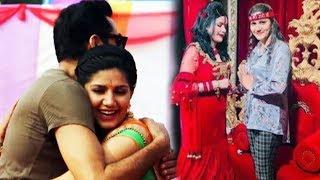 बॉलीवुड डेब्यू फिल्म 'नानू की जानू' के लिए राधे मां से लिया आशीर्वाद ..........Sapna Choudhary