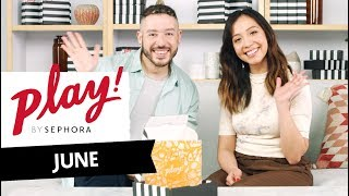 PLAY! by SEPHORA Unboxing: June 2019 | Sephora