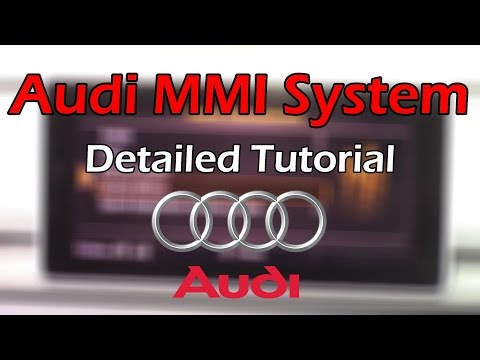 Audi MMI 2018 Detailed Tutorial And Review: Tech Help