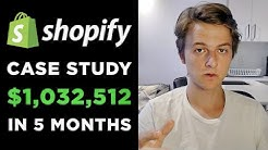 [Case Study] One Product Dropshipping | $1,032,512 in 5 Months