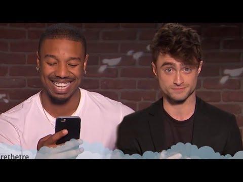 Daniel Radcliffe, Michael B Jordan & More Read Hilarious Mean Tweets!