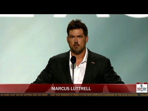 Marcus Luttrell Gives an AMAZING Emotional Speech at Republican Convention
