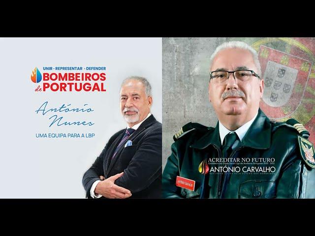 Debate com os 2 Candidatos há Liga dos Bombeiros na Rádio Renascença