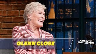 Glenn Close Talks About The Wife
