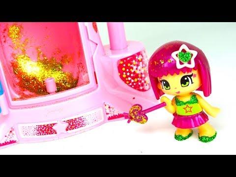 Пинипон игрушка для детей. Украшаем кукл блесками