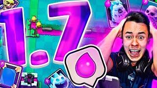 EL MAZO MAS BARATO DE CLASH ROYALE | 1.7 ELIXIR MAZO TROLL! thumbnail