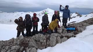 Белое безмолвие Абхазии   Восхождение на  гору Арабику в Абхазии thumbnail