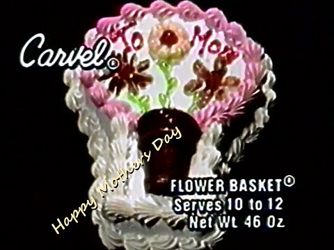 Carvel Ice Cream Cake Happy Mother's Day 1986 TV Commercial HD