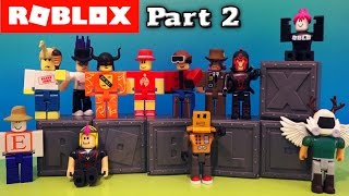 Roblox Series 1 Blind Box Action Figures Case Unboxing PART 2 Deluxe Jazwares