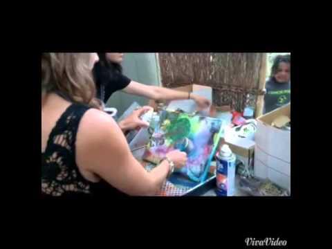 Mixed media Art Class Santa Barbara