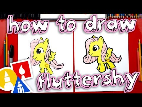 How To Draw Fluttershy Cartoon