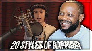 20 Styles of Rapping! (LOGIC, XXXTENTACION, 6IX9INE & MORE) REACTION!!!