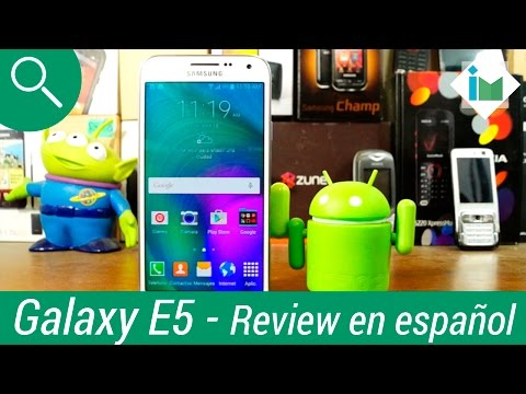 Samsung Galaxy E5 - Review en español
