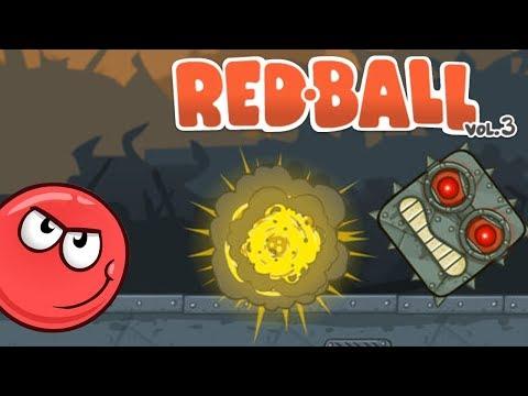 Red Ball 4 - FDG Mobile Games GbR Vol3 Level 14-15 BOSS Walkthrough