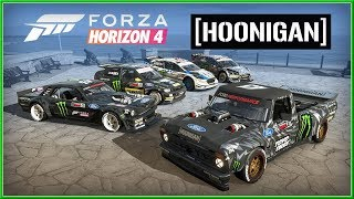 FORZA Horizon 4 - GymkhanaTEN Vehicles HOONIGAN 4K Trailer (2018) HD