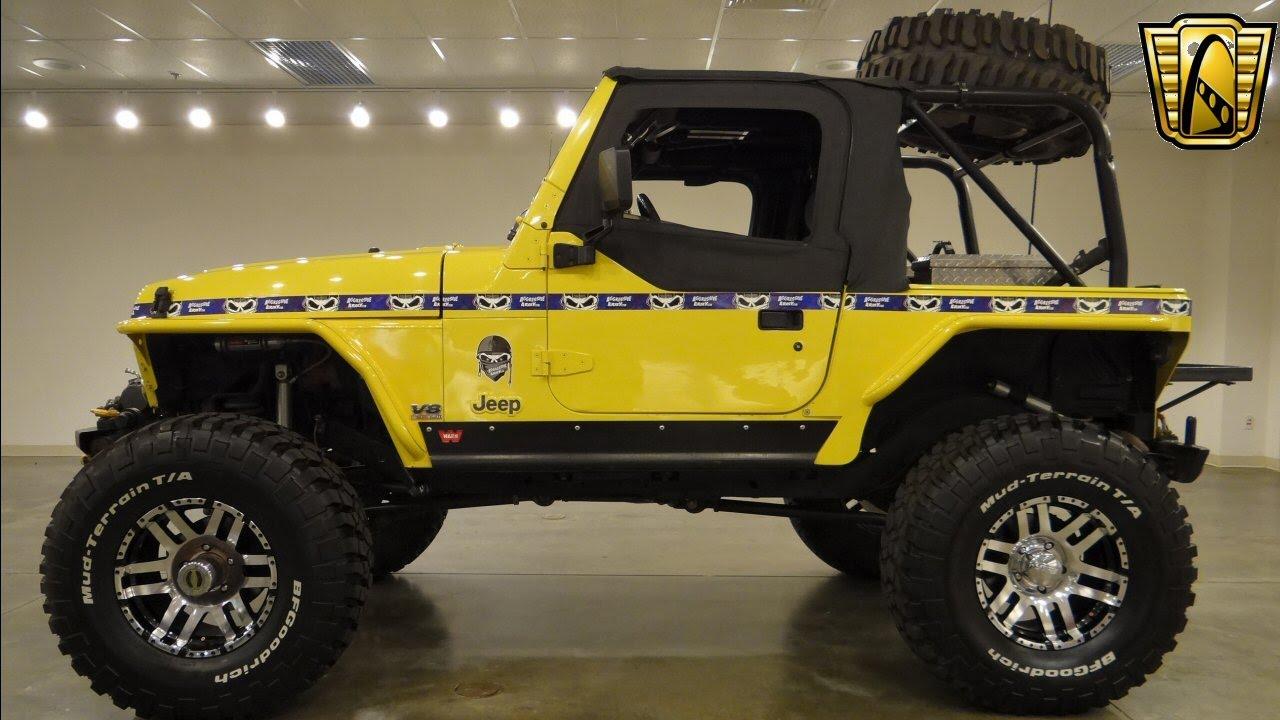 Jeep Wrangler Half Top >> 1997 Jeep Wrangler - Gateway Classic Cars St. Louis - #6220 - YouTube