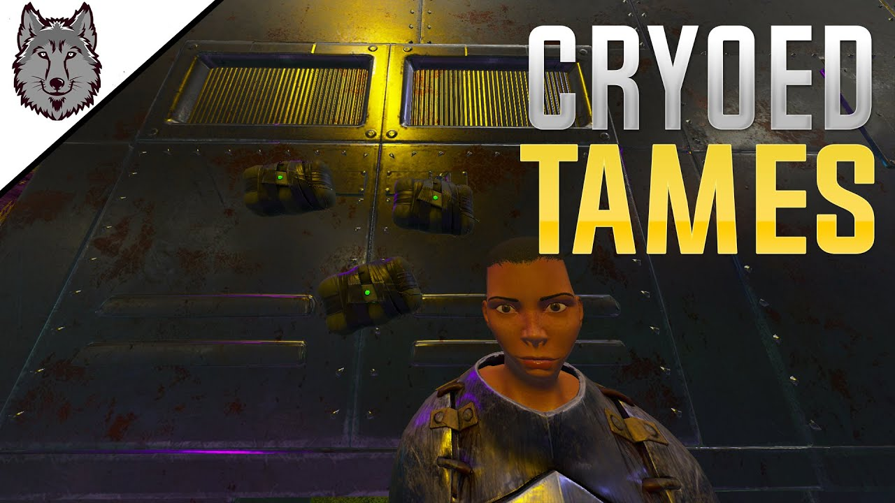 Raiding For Cryoed Tames | ARK Small Tribes Crystal Isles EP 6 S3