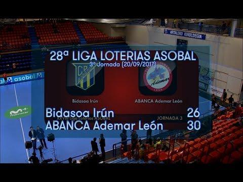 3ªJ Asobal | Bidasoa Irún - Ademar León (26-30)