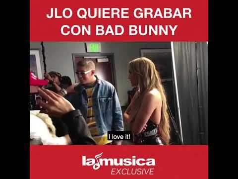 Bad Bunny ignora a Jennifer Lopez Hasta Que La Reconoce