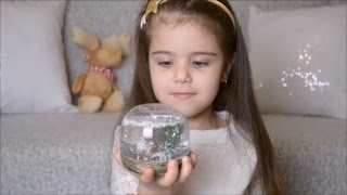 DIY СНЕЖНЫЙ ШАР♥поделка в садик♥SOFIA BEAUTY KIDS