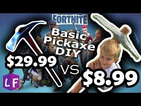 Basic Fortnite Pickaxe: DIY