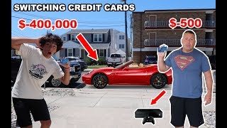I SWITCHED CREDIT CARDS WITH MY DAD FOR 24 HOURS!