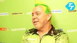 Peter Wright's gallstone pain returns despite perfect record at 2019 Champions League of Darts