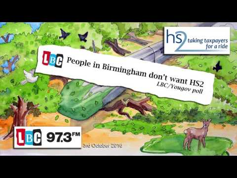 People in Birmingham don't want #HS2